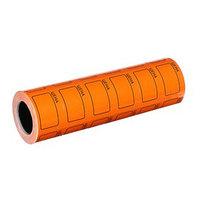 Набор из 6 роликов, в 1 ролике 200 штук, ценники самоклеящиеся, 35 х 50 мм, оранжевые