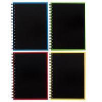 Тетрадь А5, 120 листов в клетку на гребне ErichKrause Accent, обложка мелованный картон, глянцевая ламинация,