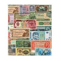 Альбом для бон на кольцах, 225 х 265 мм, 'Для банкнот', обложка ламинированный картон, формат Оптима
