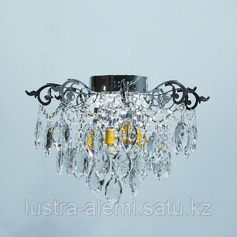 "Люстра Классика ""Хрусталь"" 1832/4+4 E27*4-LED*4 CH, фото 2"