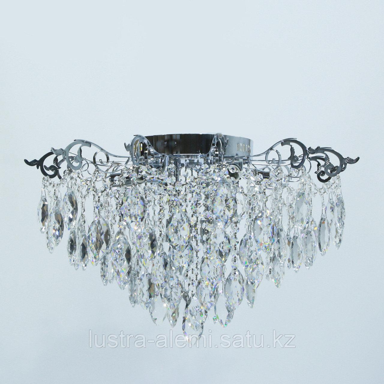 """Люстра Классика """"Хрусталь"""" 1832/8+6 E27*8-LED*6 CH"""