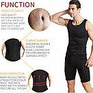 Мужской жилет для похудения с поясным корсетом, фото 5