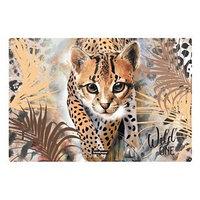 Накладка на стол пластиковая А3, 430 х 290 мм, 550 мкм, Wild Cat