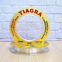 Леска рыболовная толщина 0.6 мм разрывная нагрузка 45.0 кг 250 м Tiagra Shimano Золотой карп 1060