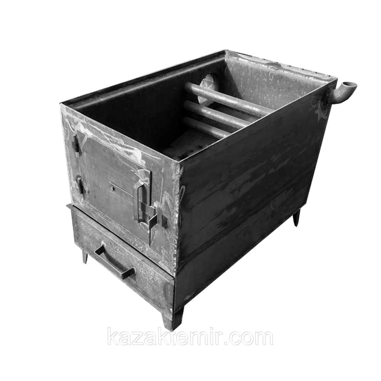 """Угольный котел-печь """"Плита Большая"""" (41х75) котел 120 кв.м"""