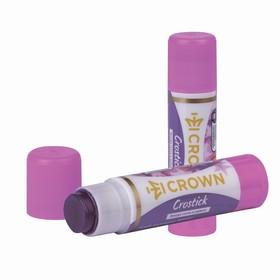 Клей-карандаш PVP 15 г Crown 'Indicator', с цветным индикатором - фото 2