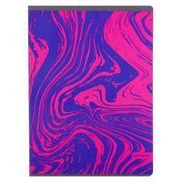 Тетрадь А4, 48 листов в клетку 'Неоновые идеи. Дизайн 1', обложка мелованный картон, выборочный лак, блок