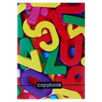 Тетрадь А4, 48 листов клетка Calligrata 'Буквы', офсет 1, белизна 100, картонная обложка (комплект из 3 шт.)