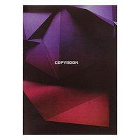 Тетрадь А4, 48 листов в клетку 'Графика 3D', обложка мелованный картон, блок 2, белизна 75 (комплект из 3 шт.)