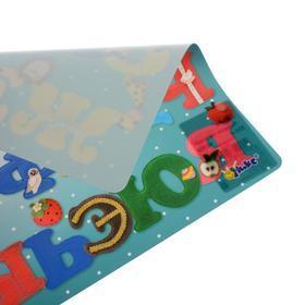 Накладка на стол, пластиковая, А4, 339 х 224 мм, КН-4, 500 мкм, обучающая, 'Русские буквы' - фото 2
