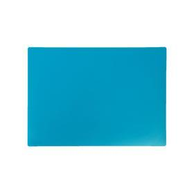 Накладка на стол, пластиковая, А3, 460 х 330 мм, КН-3 -5, 500 мкм, тонированная, цвет бирюзовый (подходит для - фото 1
