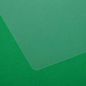 Накладка на стол, пластиковая, А4, 339 х 244 мм, КН-4 -5, 500 мкм, прозрачная (подходит для офиса) - фото 3