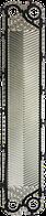 Пластина для теплообменника XGF08 производства Danfoss