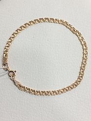 Браслет / красное золото - 19 размер