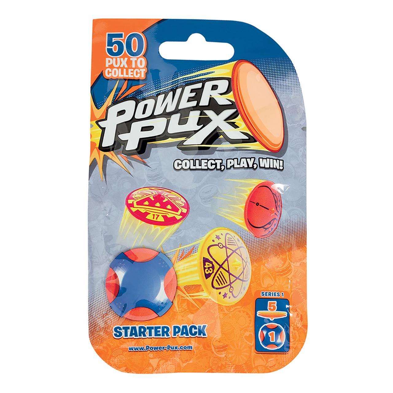 Power Pux Стартовый Игровой набор, 5 прыгающих фишек-флипов
