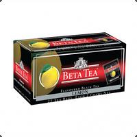 Чай Черный Beta Tea, Lemon, Пакетированный