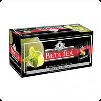 Чай Черный Beta Tea, Mint&Lemon, Пакетированный