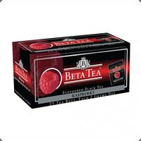 Чай Черный Beta Tea, Raspberry, Пакетированный
