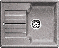 Кухонная мойка Blanco Zia 40 S -алюметаллик