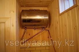 """Бак """"Комфорт"""" 95л горизонтальный эллипс для теплообменника. (Ferrum) - фото 6"""