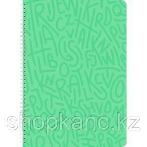 Тетрадь Lamark Delight Time на спирали, А4, 96 л., клетка, обложка картон, ламинация, уф-лак, цвет