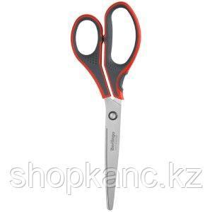 """Ножницы Berlingo """"Smart tech"""", 23см, красные, европодвес"""