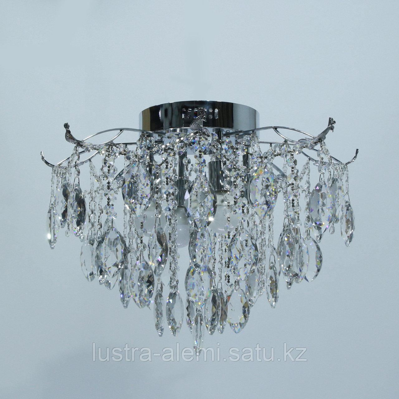 """Люстра Классика """"Хрусталь"""" 1748/4+4 E27*4-LED*4 CH"""
