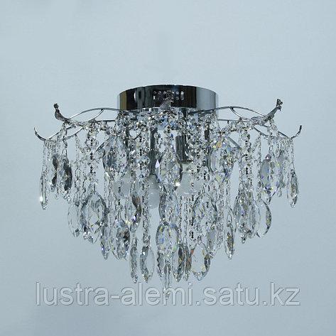 "Люстра Классика ""Хрусталь"" 1748/4+4 E27*4-LED*4 CH, фото 2"