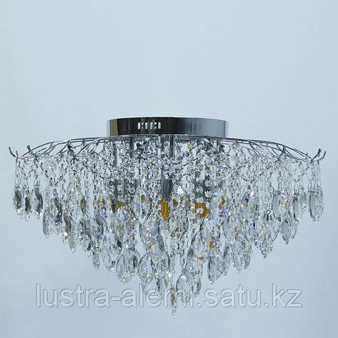 "Люстра Классика ""Хрусталь"" 1748/8+8 E27*8-LED*8 CH, фото 2"