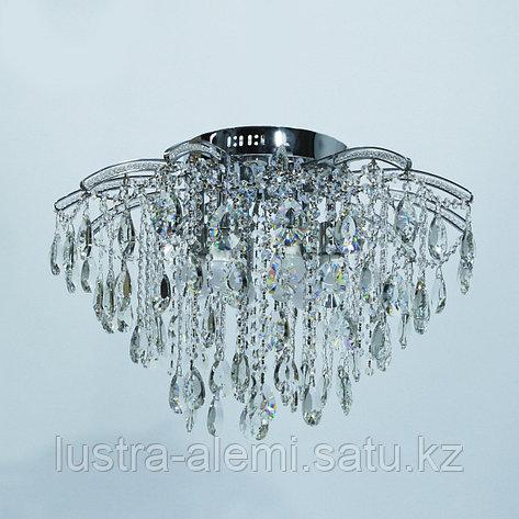 "Люстра Классика ""Хрусталь"" 1744/8+8 E27*8-LED*8 CH, фото 2"