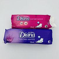Женские Гигиенические прокладки Diana дневные и ночные оптом