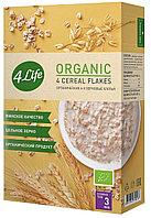 Хлопья 4Life органические 4-х зерновые, 400 г