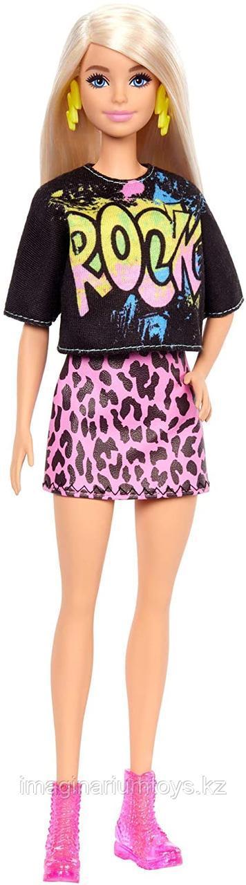 Кукла Барби модница блондинка #155 Рок звезда