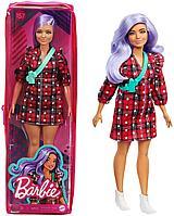 Кукла Барби модница лавандовые волосы #157 пышная