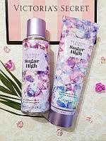 Парфюмированный набор Спрей + Лосьон Victoria's Secret Sugar High, фото 1