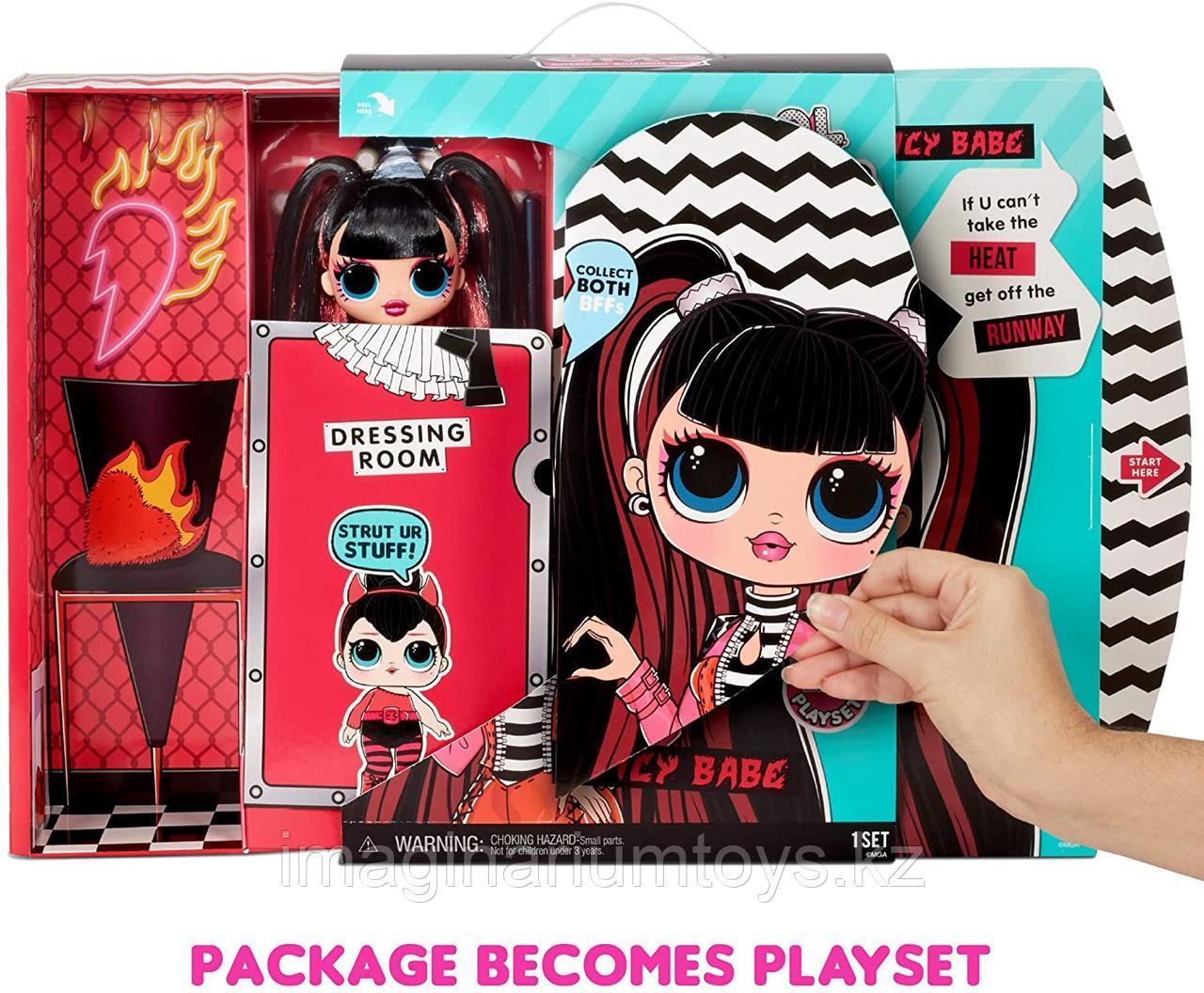 Большая Кукла ЛОЛ ОМГ 4 серия LOL OMG Spicy Babe - фото 5