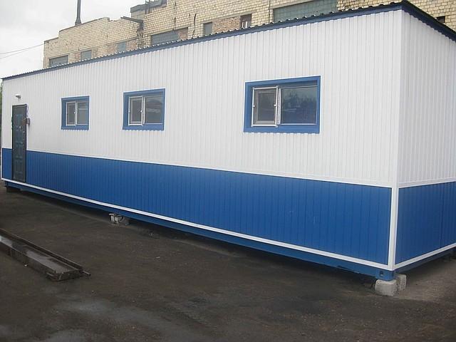 Изготовление блок-контейнеров (модульных зданий)