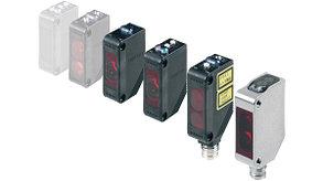 E3Z-D81-M1TJ-1 0.3M Датчик фотоэл. прямоуг. E3Z, диффузный, 100мм, PNP, кабель 0.3м с разъёмом M12, с защитной