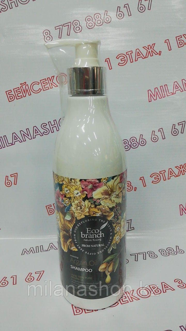 Eco branch Nature flowing Argan Oil Shampoo 500мл - Шампунь с аргановым маслом