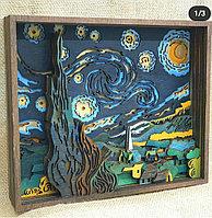 """Настенное панно """"Ван Гог. Звёздная ночь"""""""