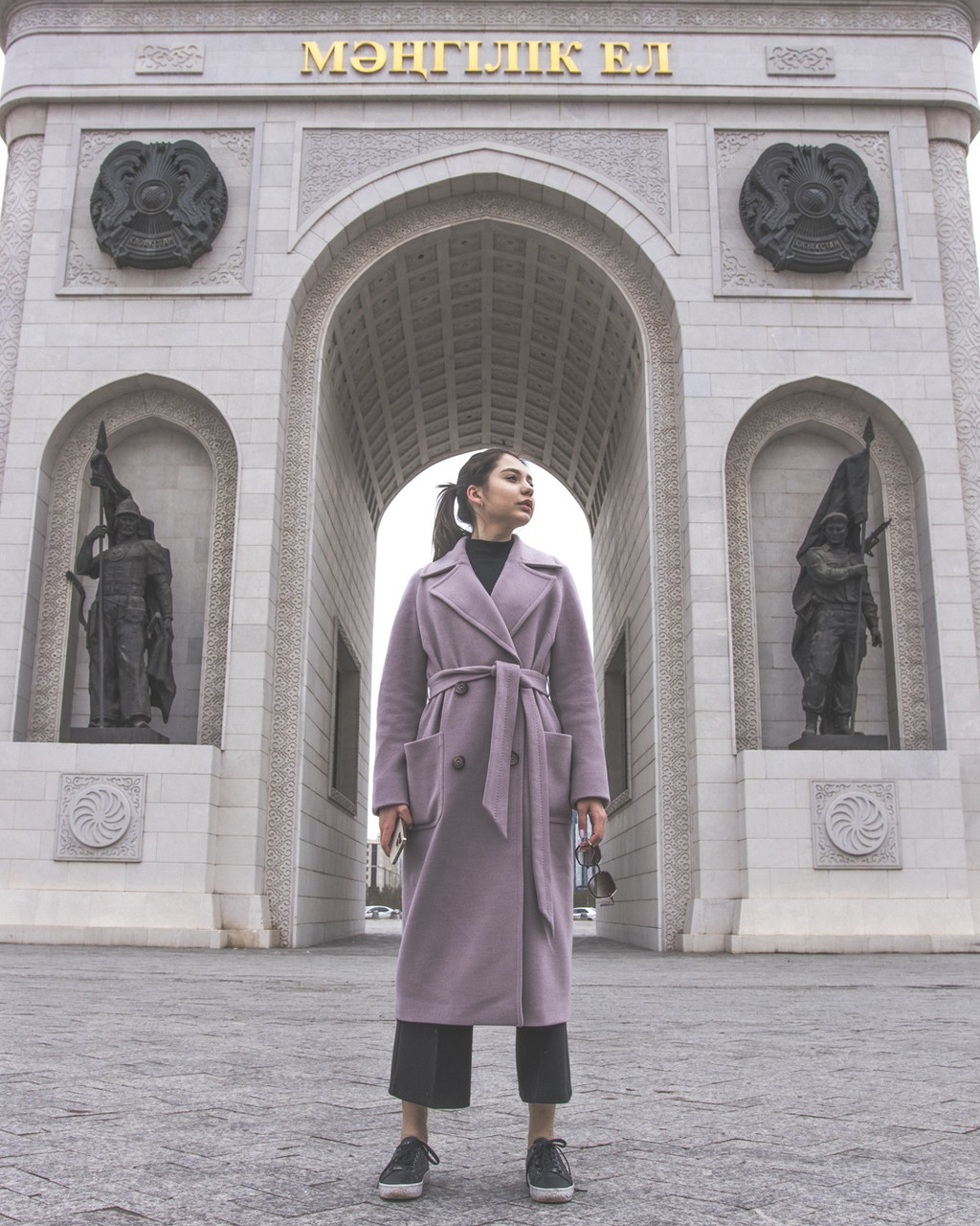 Женское пальто (лето, Hanym Lux)