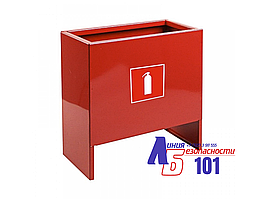 Подставка для двух огнетушителей IRON ПО-15-2