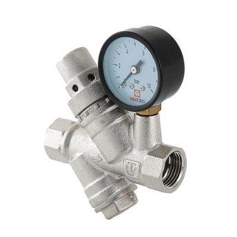 Редуктор давления с фильтром и манометром VALTEC, фото 2