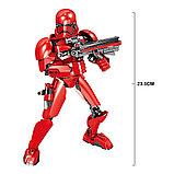 Конструктор аналог Лего (LEGO Star Wars) 75114 KSZ 331 Красный Штурмовик  Первого Ордена Звездные войны, фото 3