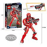 Конструктор аналог Лего (LEGO Star Wars) 75114 KSZ 331 Красный Штурмовик  Первого Ордена Звездные войны, фото 6