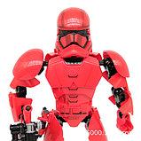 Конструктор аналог Лего (LEGO Star Wars) 75114 KSZ 331 Красный Штурмовик  Первого Ордена Звездные войны, фото 4