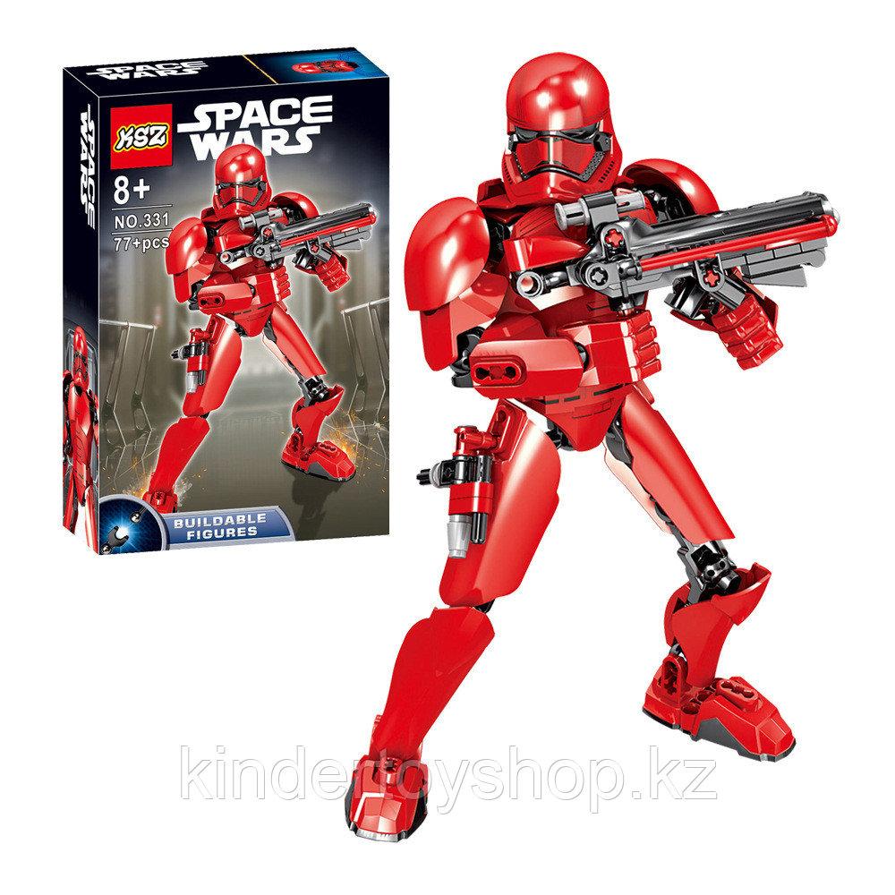 Конструктор аналог Лего (LEGO Star Wars) 75114 KSZ 331 Красный Штурмовик  Первого Ордена Звездные войны