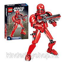 Конструктораналог Лего (LEGO Star Wars) 75114 KSZ 331Красный ШтурмовикПервого ОрденаЗвездные войны