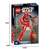 Конструктор аналог Лего (LEGO Star Wars) 75114 KSZ 331 Красный Штурмовик  Первого Ордена Звездные войны, фото 5