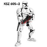 Конструктор аналог лего LEGO Star Wars: KSZ605-2 Штурмовик Первого Ордена 75114  Звездные войны, фото 2